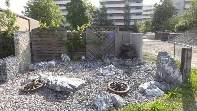 Steingarten Gartengestaltung Wetzikon Gartenbau Gartenpflege